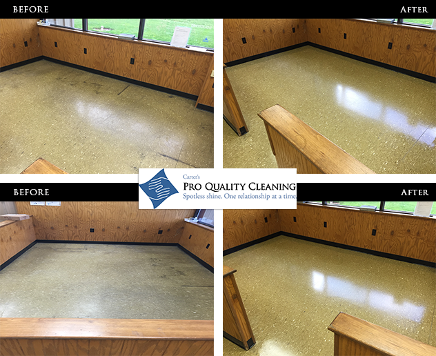 Cycle Chemical Treatment Before and After by Pro Quality Cleaning